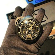 Panerai pocket limited 50 pieces edition watch. 125 000 euro per one!!! #panerai #watch #sihh2013 #fashionblogger #timepiece #loveit #instadaily #instamood - @daria_kunilovskaya- #webstagram