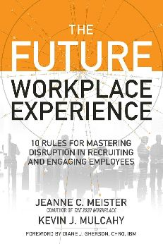 Business books are all abuzz about the need to innovate. These books advocate for new technologies, new leadership styles and new organizational structures. Do you know one area that these books don't talk about? Human resources. The Future Workplace Experience: 10 Rules For Mastering Disruption in Recruiting and Engaging Employees helps both workers and those in human resources understand how the future of work is shaping innovation.  What is The Future Workplace Experien
