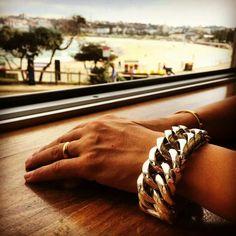 Bracelet silver www. Hand Jewelry, Skull Jewelry, Leather Jewelry, Chunky Silver Bracelet, Mens Gold Bracelets, Mens Bracelet Fashion, Silver Man, Bracelet Designs, Handmade Silver