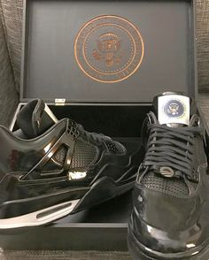 880a0a71ae First look at a special Air Jordan 4 for @barackobama from @jumpman23 All  Black