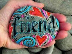 .I love painting rocks