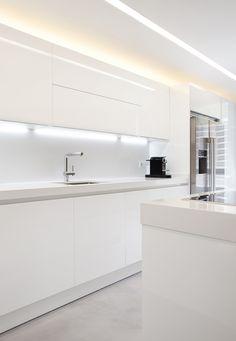 Kitchen Room Design, Kitchen Cabinet Design, Kitchen Sets, Home Decor Kitchen, Interior Design Kitchen, Kitchen Layout U Shaped, Pastel Kitchen, Living Room Upholstery, Küchen Design