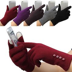 Hi New Women's Winter Warm Gloves Touch Screen Sport Ski Gloves Outdoor Mittens