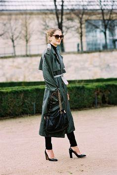 Art director and fashion consultant Sofia Sanchez Barrenechea ,Tuileries, Paris, March 2014. A...