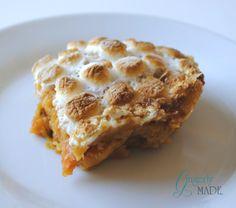 Gingerly Made: Grandma's Sweet Potato Pudding (Casserole)