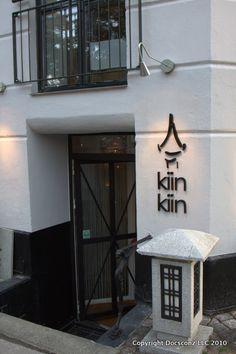 Kiin Kiin. Michelin star asian restaurant in Copenhagen Denmark