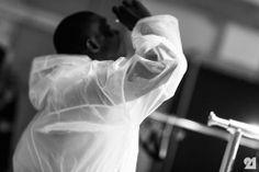 Le 21ème / Backstage at Jeremy Laing, Spring/Summer 2014 | New York City  // #Fashion, #FashionBlog, #FashionBlogger, #Ootd, #OutfitOfTheDay, #StreetStyle, #Style