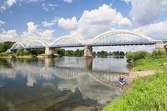 Bridge over the Loire at Muides sur Loire, Region Central, France - photo by Robert Harding