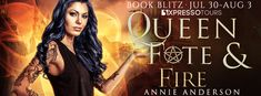 Stephanie Jane: Spotlight on Queen of Fate & Fire by Annie Anderso...