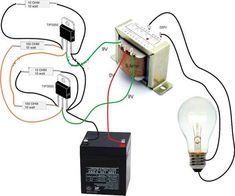 Simple Inverter Circuit Diagram - Electrical Blo g Electronics Projects, Electronic Circuit Projects, Electrical Projects, Electrical Installation, Electronics Components, Electronic Engineering, Diy Electronics, Electrical Engineering, Industrial Engineering