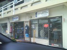 Shops at a Marina