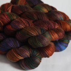 Hedgehog Fibres — Truffle, Sock yarn