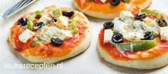 Griekse mini pizza - Leuke recepten !