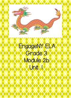 I have taken the EngageNY ELA Module 2b and I have recreated it to make it more teacher and student friendly. This packet includes all of the student handouts needed for units 1.