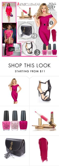 """""""Amiclubwear 2"""" by smasy ❤ liked on Polyvore featuring Burberry, OPI and NARS Cosmetics"""