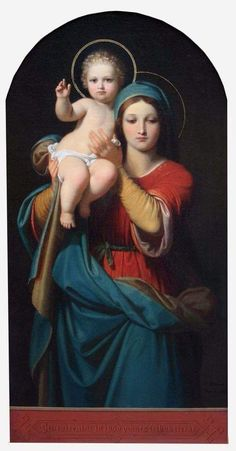 Mother Mary & Child Jesus