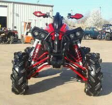 can am renegade that im gonna own because they are amazing for mudding Can Am Atv, Atv Accessories, Sand Rail, Quad Bike, Four Wheelers, Dirtbikes, Outdoor Toys, Trail Riding, Go Kart