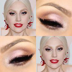 Tutorial – maquiagem inspirada em Lady Gaga no Oscar