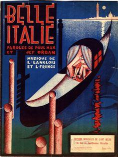 Belle Italie, 1928 (ill.: Peter De Greef); ref. 1746