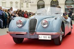 Edizione 2012: Jaguar XK 120 #jaguar #auto #epoca #eleganza #passione