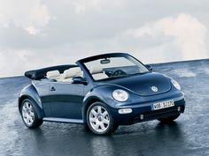 beetle convertible azul - Buscar con Google