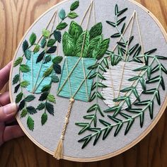 Embroidery by Liisa Mason