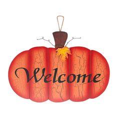 5414d9a5262 Welcome Pumpkin Sign  12.99  gordmans  falldecor  fall Halloween Items