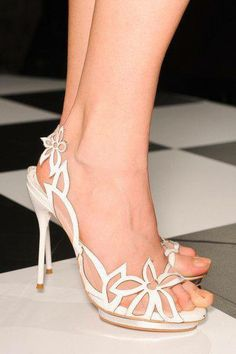Wedding shoes by Christian louboutin