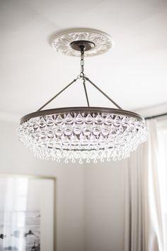 modern elegant chandelier