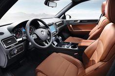 L'habitacle du Volkswagen Touareg