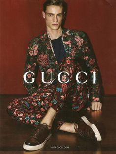 Preview | Gucci Spring/Summer 2014 Campaign Featuring Tommaso de Benedictis