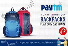 #Paytm #offers Extra 50% cashback on #TommyHilfiger #Bags. Min Cart value is Rs.400. Max CB is Rs.2000. 50% Coupon Code – STATIONERY50 http://www.paisebachaoindia.com/get-extra-50-cashback-on-tommy-hilfiger-bags-paytm/