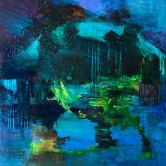 Celebration, Acrylic on canvas, 100 x 100 cm, Bjørnar Aaslund, 2015
