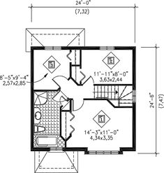- 80543PM | 2nd Floor Master Suite, CAD Available, Canadian, Metric, PDF, Traditional | Architectural Designs