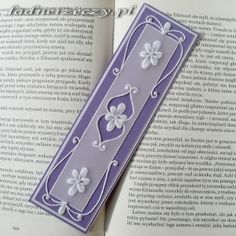 Bookmark crafted with Parchment Crafting techniques....