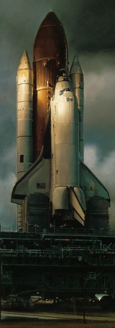 concept ships: A tribute to NASA's space shuttle program on concept ships