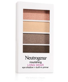 Neutrogena - Nourishing Long Wear Eye Shadow + Built-in Primer - Classic Nude 0.24oz