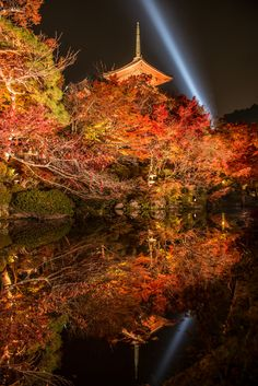 The pond in Kiyomizu-temple, Kyoto, Japan Photograph Mizu-kagami (Reflection in the water) by Takahiro Bessho on 500px