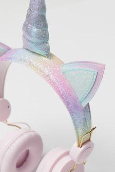 On-ear Headphones - Pink/unicorn - Kids Unicorn Bedroom Decor, Unicorn Rooms, Unicorn Kids, Unicorn Birthday, Pink Bedroom Decor, Cute Headphones, Unicorn Fashion, Accessoires Iphone, Accesorios Casual