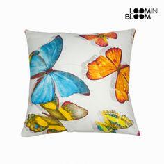 Cojín butterfly tela by Loom In Bloom - 1076
