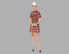 1969 Misses One-Piece Dress pattern Butterick 5022 Bust 36, A line dress Semi fitted dress Tailored dress Ruffled dress UNCUT pattern by knightcloth on Etsy