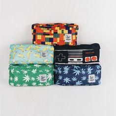 Our waist bag collection (Lego Brick, Banana, Nintendo, Marijuana Green, Marijuana Navy), IDR: 200,000, Order: +62-87722077877, Line: sfkgoods, BBM: 7DA65779, Email: cub.bags@gmail.com, Base from Bandung, #cubdignity #cub #wanderlust #weed #marijuana #nintendo #lego #brick #banana #backpack #waistbag #hipbag #hippack #bag #slingbag #sling #tas