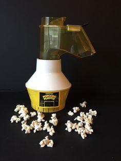 Vintage Wear-Ever Popcorn Pumper, Popcorn Maker, Popcorn Popper, Hot Air Popper, Movie Popcorn by GirlGoesVintage on Etsy