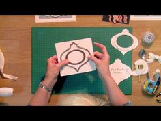 Craft Dies by Sue Wilson -- Tutorial Video - Snow Globe Card for Creative Expressions - YouTube