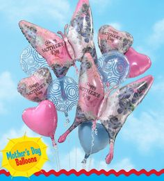 Pretty Mom day balloons from http://anagramballoons.com/