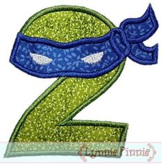 See It All - Ninja Numbers Applique Set 0-9 4x4 5x7 6x10 - Welcome to Lynnie Pinnie.com! Instant download and free applique machine embroidery designs in PES, HUS, JEF, DST, EXP, VIP, XXX AND ART formats.