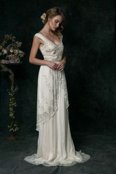 Saja Weddings 2016: Die romantische Brautmoden-Kollektion für Vintage-Boho-Bräute @Saja Weddings http://www.hochzeitswahn.de/inspirationsideen/saja-weddings-2016-die-romantische-brautmoden-kollektion-fuer-vintage-boho-braeute/ #vintage #dress #weddingdress