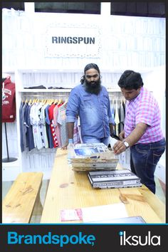 Ringspun's designs intrigue the brands at #IFF'15.