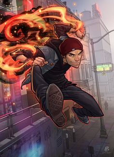 Infamous Second Son by PatrickBrown on deviantART ★ Find more at http://www.pinterest.com/competing/