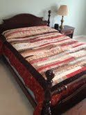 Steph-Notices: How to make a Queen Size Jelly Roll 1600 quilt, Version One & Two